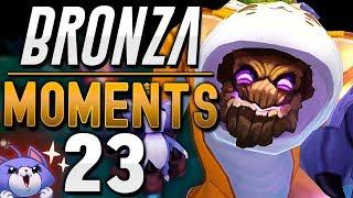 EN TODO EL PECHO | BRONZA MOMENTS (Semana 23) League of Legends