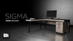 Sigma Modern Office Furniture Collection by BDI