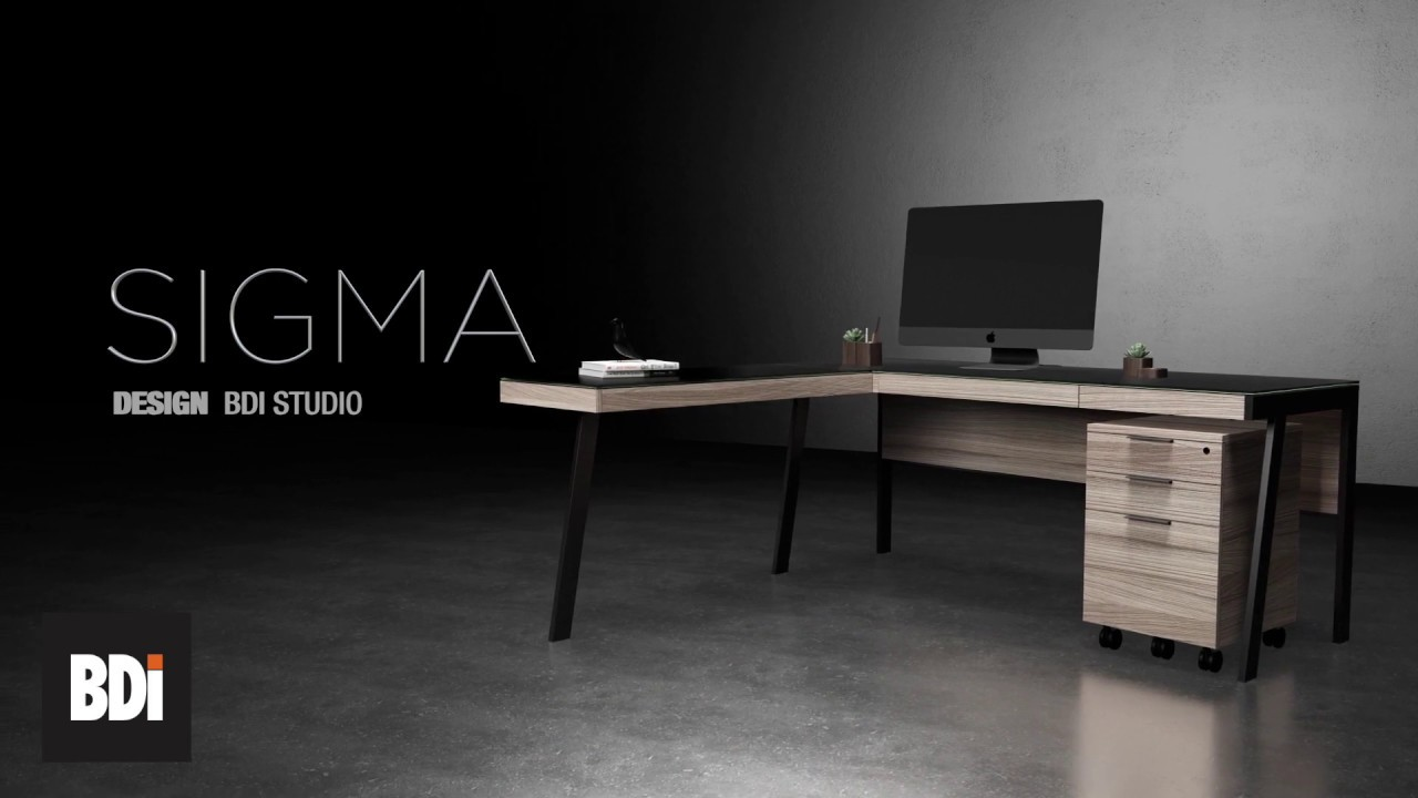 Sigma Modern Home Office Furniture Collection By Bdi Youtube