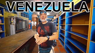 INSIDE EMPTY VENEZUELAN SUPERMARKET (Depressing)