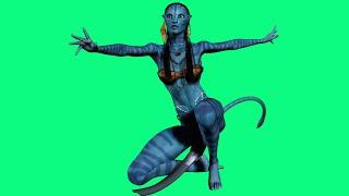 How To Draw Neytiri te Tskaha Mo'at'ite Avatar Как нарисовать Нейтири те Цкаха Мо'ат'ите Из Аватара