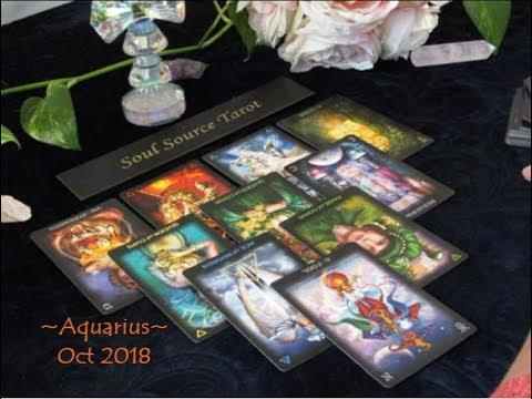 ~Aquarius~♒️ You Have a Perfect Match Waiting ❤️ End of October 2018 Aquarius Tarot Reading.
