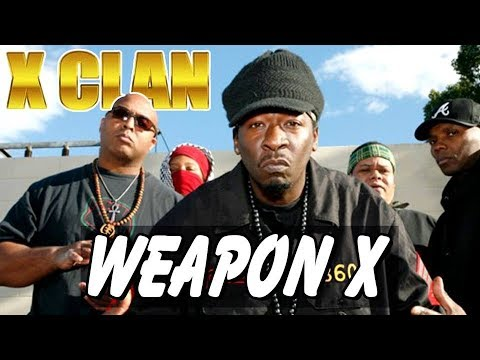 X-Clan - Weapon X (Official Music Video)