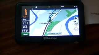 Prestigio GEOVSION 5050 GPS навигатор ОБЗОР(Вот в принципе что можно купить в Китае за эти деньги. http://ali.pub/9fc2m GPS навигатор Prestigio GEOVSION 5050. конечно не дорог..., 2014-07-09T01:19:42.000Z)