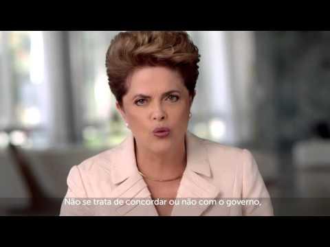 Pronunciamento - Dilma Rousseff 15 de Abril