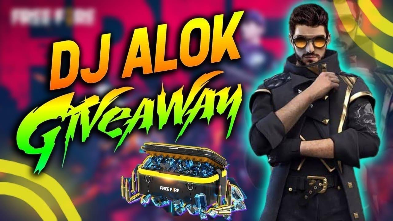 DJ ALOK GIVEAWAY II FF LIVE II RODTIGER GAMING II