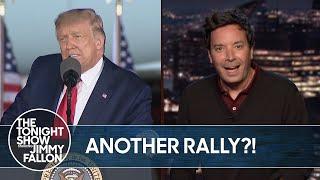 Trump Hosts COVID-19 Super Spreader Event in Michigan | The Tonight Show