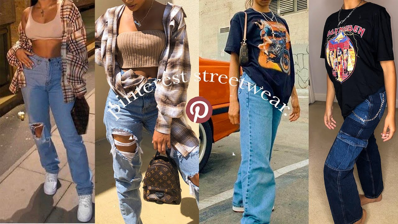 RECREATING ICONIC PINTEREST OUTFITS *streetwear*