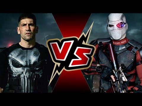 Punisher VS Deadshot  BATTLE ARENA