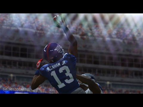 Can Calvin Johnson Throw a 99yd TD pass to Odell Beckham Jr!? Live Commentary - Madden 16 Gameplay