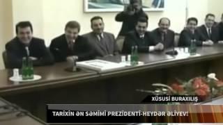Heyder Eliyev en semimi prezident