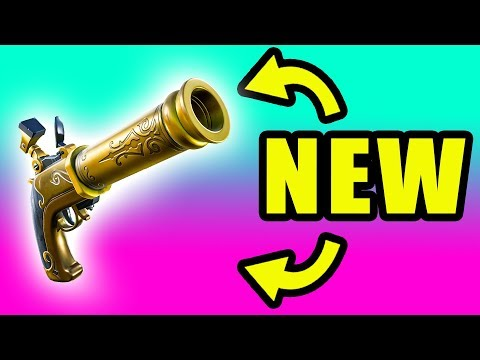NEW Update! New Flint-Knock Pistol ⚠️ Fortnite Season 8 Gameplay Live
