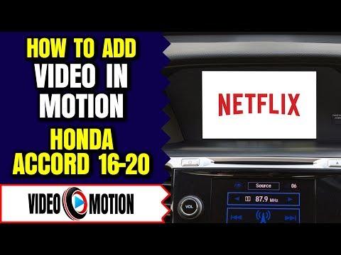 Honda Video In Motion, Honda Accord Play Video, Honda Accord Video In Motion, Honda Accord YouTube