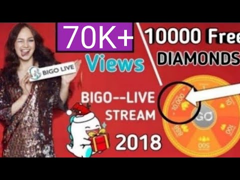 Bigo Live Free Diamonds Tips 2018 Happy New Year Bigo Live Diamonds YouTube