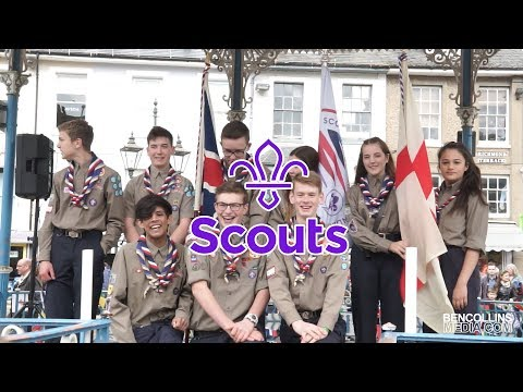 Horsham Scouts - St George's Day Highlights 2019