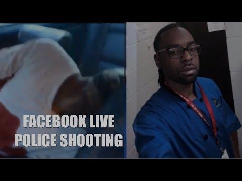 WARNING GRAPHIC CONTENT:  FACEBOOK LIVE POLICE SHOOTING (Philando Castile Reynolds) (FULL UNEDITED)