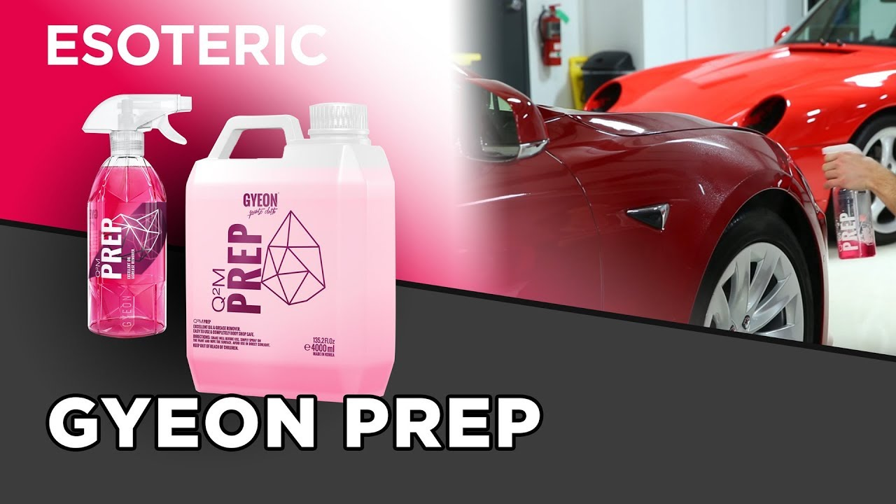 Video Series: Gyeon Prep | Esoteric Car Care