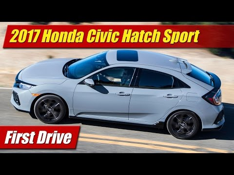 2017 Honda Civic Hatch Sport: First Drive