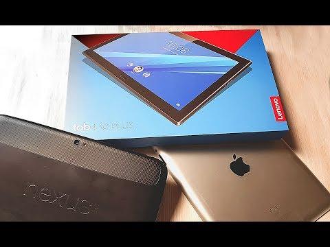 Lenovo Tab 4 10 Plus TB-X704L. Отличный планшет на андроиде в 2017