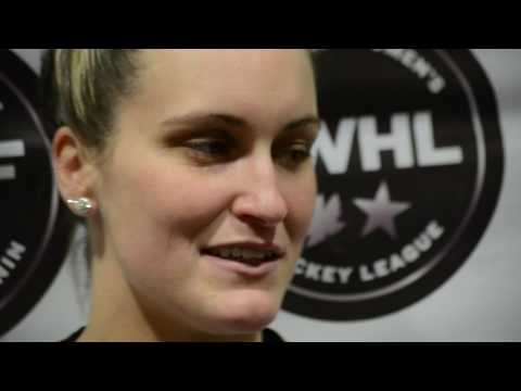Marie-Philip Poulin Interview - 2017 CWHL All-Star Game