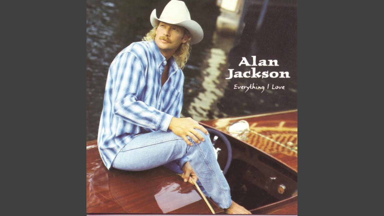 "ALAN JACKSON ""A House With No Curtains"""