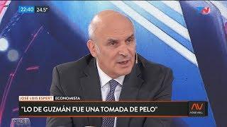 """José Luis Espert en """"A dos voces"""" con Bonelli, por """"TN"""" el 12 de febrero de 2020"""