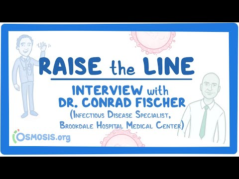 #RaiseTheLine Interview With Dr. Conrad Fischer- Infectious Disease Specialist