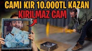 CAMI KIRAN 10.000TL KAZANIR! (Dünyanın En Sağlam Camı)