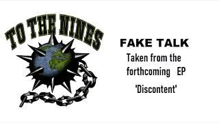 FAKE TALK Lyric Video