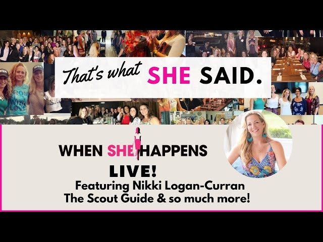 #WSH That's What She Said Featuring Nikki Logan-Curran