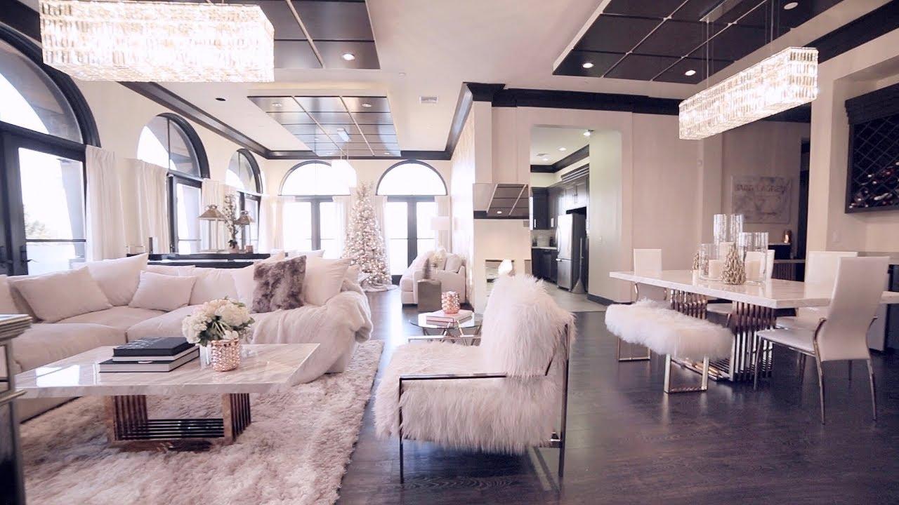 Holiday Living Room Tour!   Jackie Aina