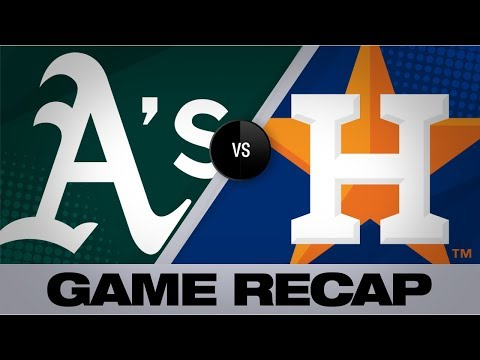 Astros smash 7 homers in rout of Athletics | Astros-Athletics Game Highlights 9/9/19