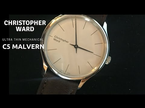 "Christopher Ward ""C5 Malvern 595"" -  Ultra Thin Mechanical Watch That Changed My Mind"