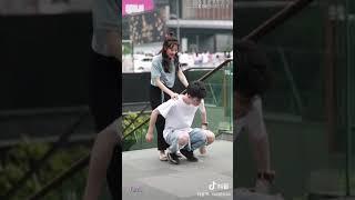 [ TIK TOK CHINA ] Cẩu Lương của cặp couple ngọt ngào ở phố Thượng Hải ❤ khiến mọi người ganh tỵ