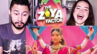 THE ZOYA FACTOR | Sonam K Ahuja | Dulquer Salmaan | Abhishek Sharma | Trailer Reaction!