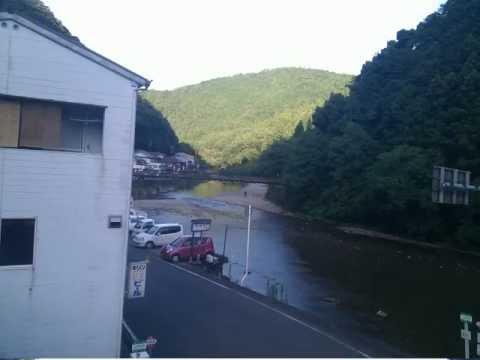Japan timelapse in Kawayu-onsen, 川湯温泉