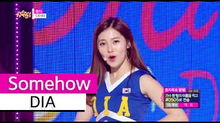 Video [HOT] DIA - Somehow, 다이아 - 왠지, Show Music core 20151003 download MP3, 3GP, MP4, WEBM, AVI, FLV Maret 2018