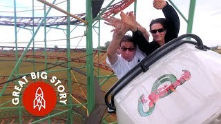This Couple Rode Over 2,000 Roller Coasters