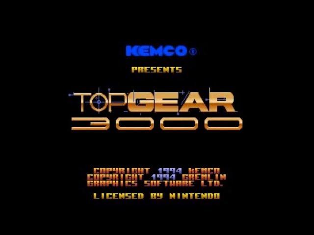 Top Gear 3000 (SNES) - Longplay