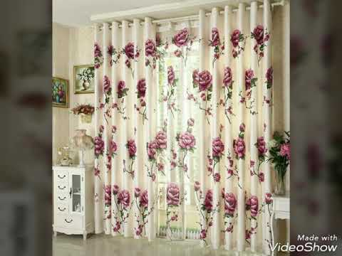 50 Photos Of Modern Floral Curtains That Will Fascinate You For Sure
