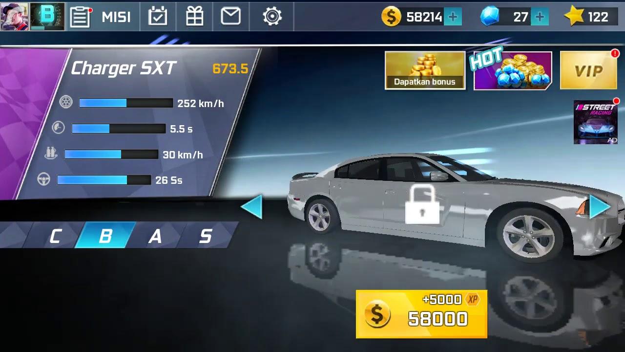 Download Street Racing 3D GAME-Challenger SRT-Top Speed 275