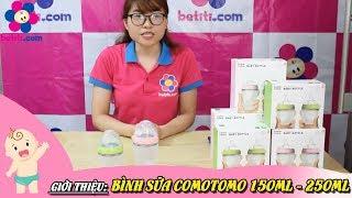 Bình Sữa Comotomo 150ml và 250ml - Betiti.Com