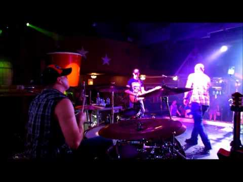 ROCKSTAR RODEO - TAKE A LITTLE RIDE (Jason Aldean) - DRUM CAM - 115 BOURBON STREET - 03/25/2016