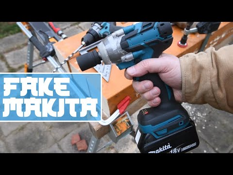 Fake Makita impact wrench