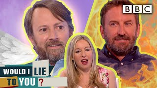 Awkward moment as Lee rips into David's marriage! | Would I Lie To You? - BBC