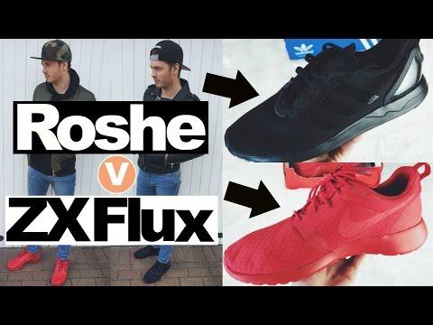 adidas zx flux vs nike roshe run
