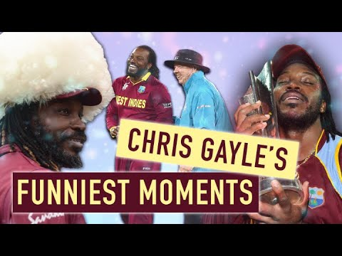 Download The best of Chris Gayle   Funny moments from the Universe Boss