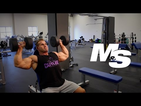 Jay Cutler's Training Tips: Dumbbell Shoulder Press Technique