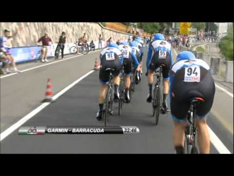 Giro d' italia 2012   - Cronometro a Squadre Verona - Verona Quarta Tappa