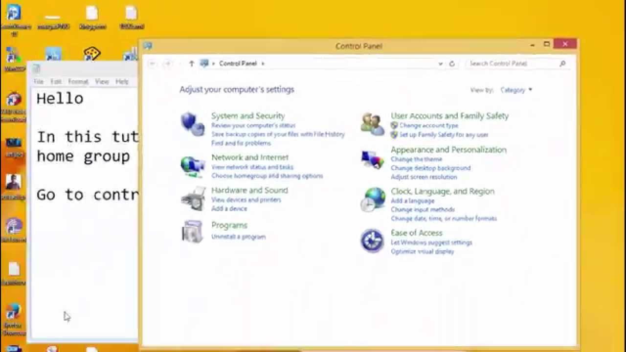 remove homegroup windows 7 desktop